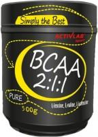 Фото - Аминокислоты Activlab BCAA 2-1-1 500 g