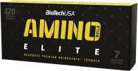 Фото - Аминокислоты BioTech Amino Build Elite 120 cap