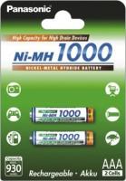 Аккумуляторная батарейка Panasonic High Capacity  2xAAA 1000 mAh
