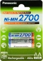 Аккумуляторная батарейка Panasonic High Capacity  2xAA 2700 mAh