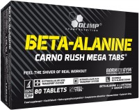 Фото - Аминокислоты Olimp Beta-Alanine Carno Rush Mega Tabs 80 tab