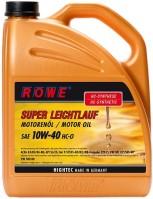 Моторное масло Rowe Hightec Super Leichtlauf HC-O 10W-40 5л