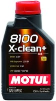 Моторное масло Motul 8100 X-Clean Plus 5W-30 1 л