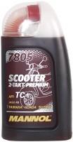 Фото - Моторное масло Mannol 7805 Scooter 2-Takt Premium 1л