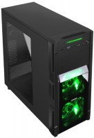 Фото - Корпус (системный блок) Gamemax G535-CR черный