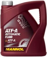 Фото - Трансмиссионное масло Mannol ATF-A Automatic Fluid 4л