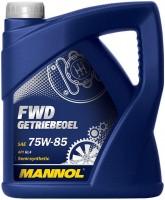 Фото - Трансмиссионное масло Mannol FWD Getriebeoel 75W-85 4л