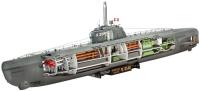 Сборная модель Revell Deutsches U-Boot Type XXI with Interior (1:144)
