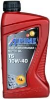Моторное масло Alpine TS 10W-40 1л
