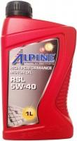 Моторное масло Alpine RSL 5W-40 1л