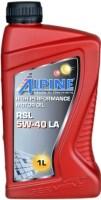 Моторное масло Alpine RSL 5W-40 LA 1л