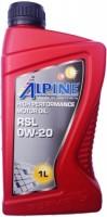 Моторное масло Alpine RSL 0W-20 1л