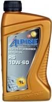 Моторное масло Alpine RS 10W-60 1л