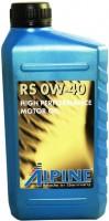 Моторное масло Alpine RS 0W-40 1л