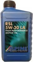 Моторное масло Alpine RSL 5W-30 LA 1л