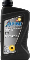 Моторное масло Alpine 2T Synthetic 1L 1 л