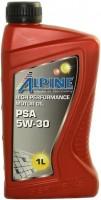 Моторное масло Alpine PSA 5W-30 1л
