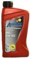 Моторное масло Alpine RSL 5W-50 1л