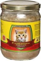 Корм для кошек Leopold Meat Delicacy with Poultry 0.5 kg