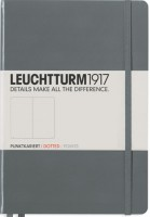 Блокнот Leuchtturm1917 Dots Notebook Composition Medium Grey