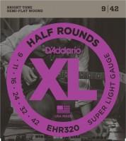 Струны DAddario XL Half Rounds 9-42