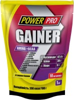Гейнер Power Pro Gainer Amino/BCAA  1 кг