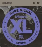 Струны DAddario XL Pure Nickel Wound 11-48