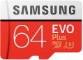 Samsung EVO Plus 100 Mb/s microSDXC UHS-I U3  64ГБ