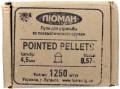 Luman Pointed Pellets 4.5 mm 0.57 g 1250 pcs