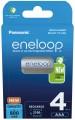 Panasonic Eneloop  4xAAA 750 mAh