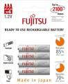 Fujitsu  4xAAA 750 mAh