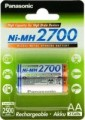 Panasonic High Capacity  2xAA 2700 mAh
