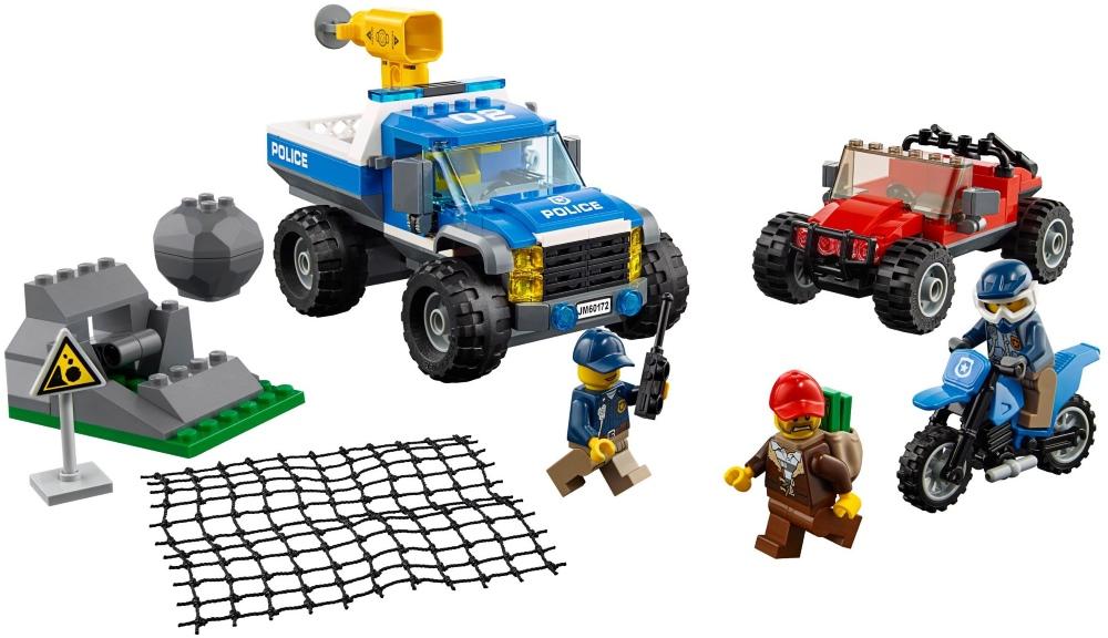Lego Dirt Road Pursuit 60172 (60172) - купить конструктор: цены ...
