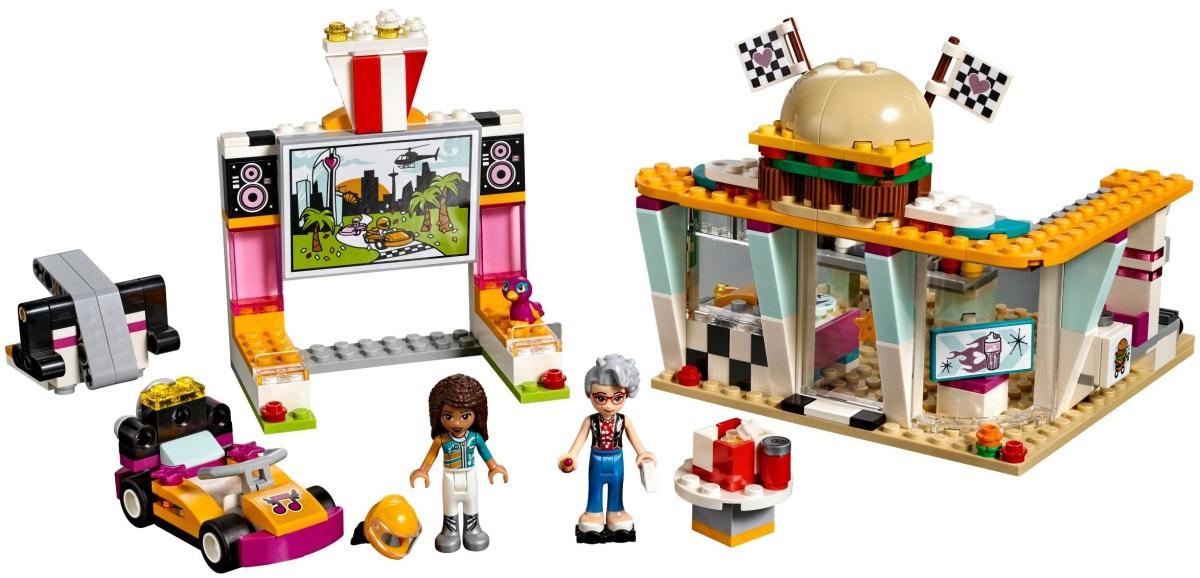 Lego Drifting Diner 41349 (41349) - купить конструктор: цены ...