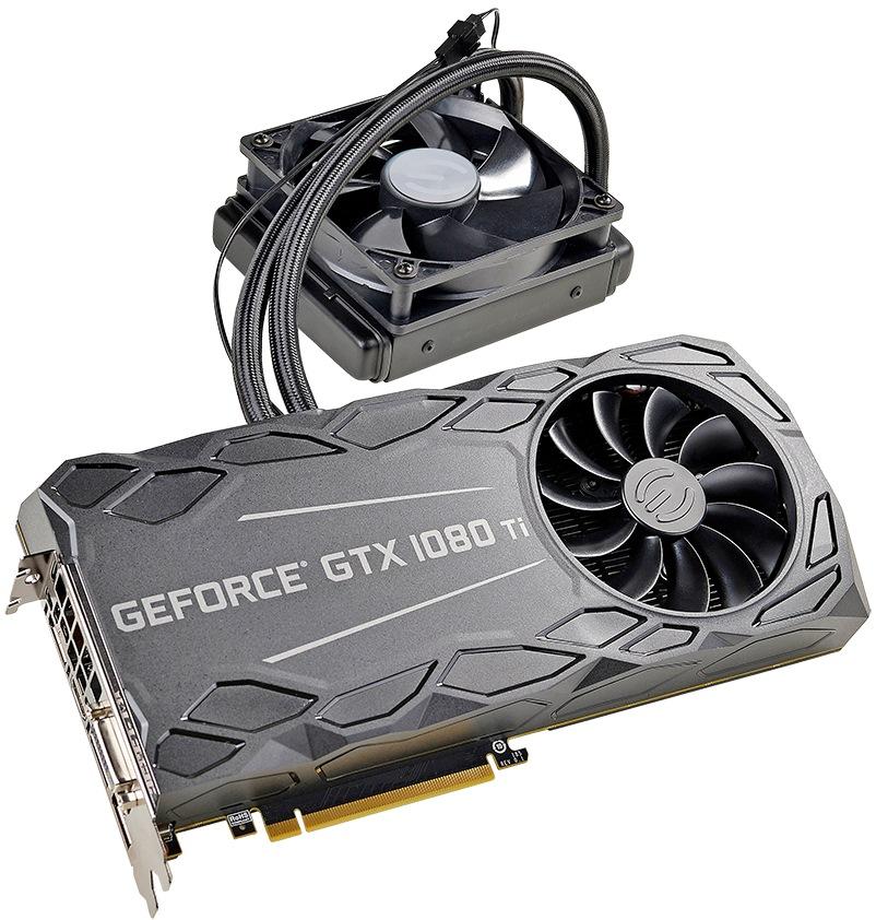 EVGA GeForce GTX 1080 Ti 11G-P4-6698-KR - купить видеокарту