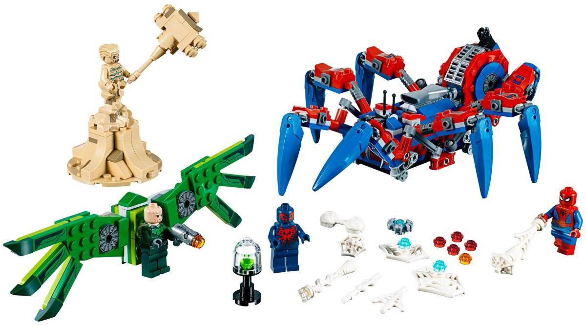 Lego Spider-Mans Spider Crawler 76114 (76114) - купить конструктор ...
