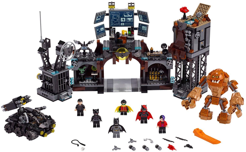 Lego Batcave Clayface Invasion 76122 (76122) - купить конструктор ...