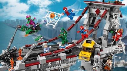 Конструкторы LEGO по киношным и мультипликационным франшизам
