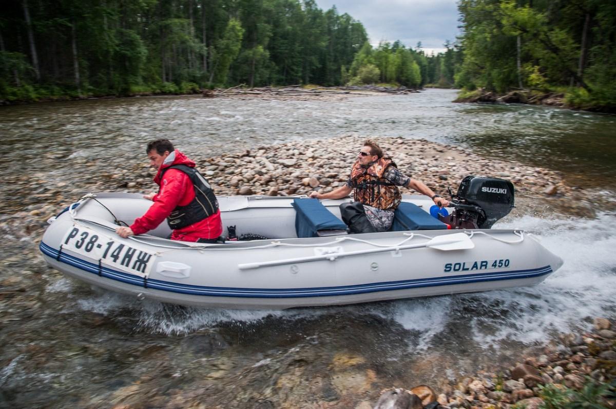 Рыбалка с лодки. Теория и практика рыбалки с помощью лодки
