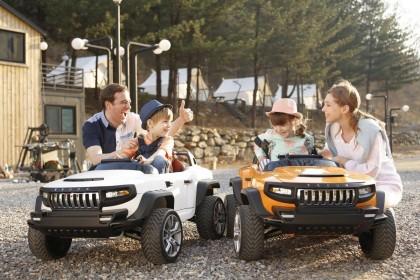 За рулем с малых лет: ТОП-5 детских электрокаров
