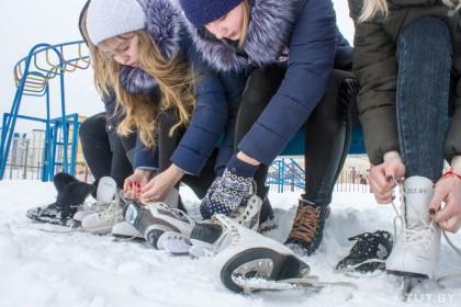 5 женских коньков для катания на ледовом катке