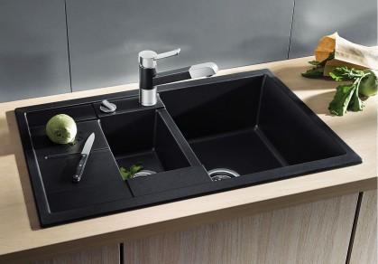 ТОП-5 гранитных реверсивных моек с крылом для сушки посуды