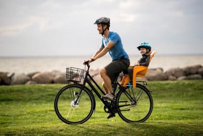 5 + 1 задних велокресел для совместных велопокатушек с детьми