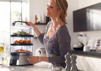 Здоровая и полезная пища на пару: ТОП-5 пароварок
