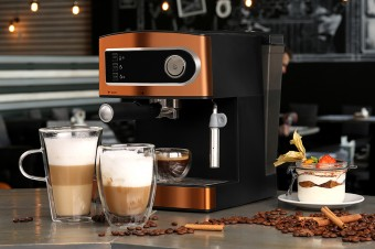 Кофеманам на заметку: ТОП-5 кофеварок рожкового типа