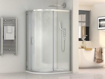 Практичное решение для ванной комнаты: ТОП-5 компактных душевых кабин