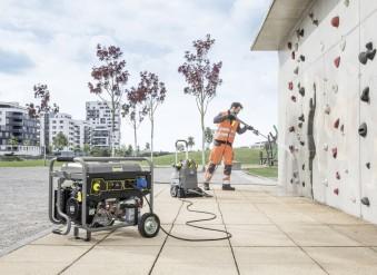 Автономное энергоснабжение: 5 бензогенераторов с синхронным альтернатором