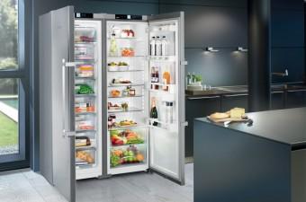 ТОП-5 емких холодильников Side-by-side