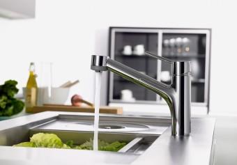 ТОП-5 долговечных однорычажных смесителей для кухни
