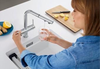ТОП-5 кухонних змішувачів з краном для питної води
